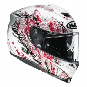 Casco HJC RPHA 70 Hanoke MC1SF Blanco/Rojo/Negro XL