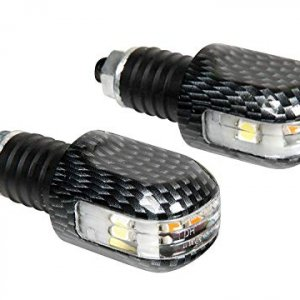 Intermitentes puño Lampa 90241 3 en 1 Carbon look LED