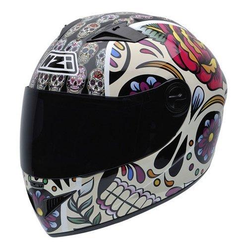 Casco NZI Vital Mexican Skulls Multicolor XL 1