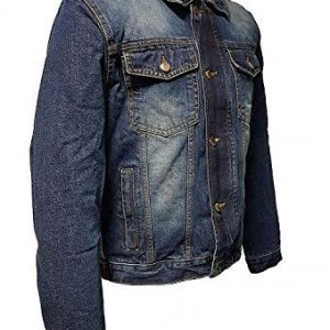 Chaqueta aramida Roleff Racewear Jeans Azul L