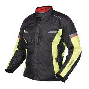 Chaqueta Racer Air system Negro Fluo 10XL