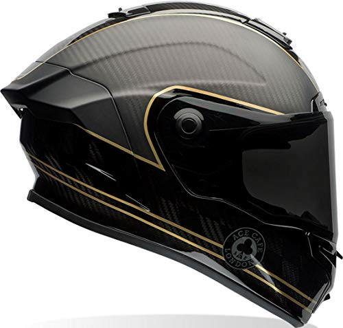 Casco Bell Race Star Speed Check Negro/Oro S 1