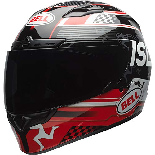 Casco Bell Qualifier DLX Mips Isle of Man Negro/Rojo S 1