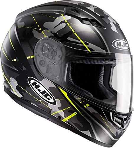Casco HJC CS15 Songtan MC4HSF Negro/Amarillo XXL 1