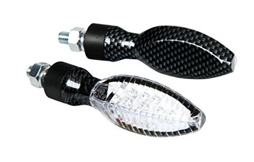 Intermitentes LED Lampa Carbon look 1