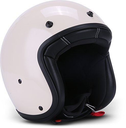 Casco jet Rebel R9 Crema L 1