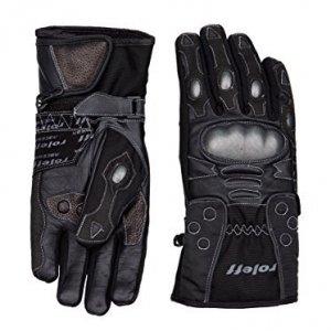 Guantes cuero Roleff Racewear 834 Negro L