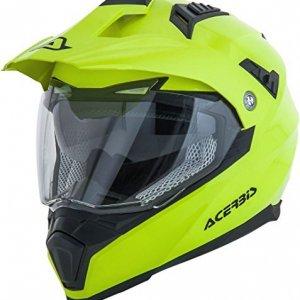 Casco Acerbis Flip FS-606 Amarillo Fluo XL