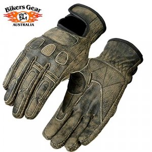 Guantes piel Bikers Gear Roadster Marron XS