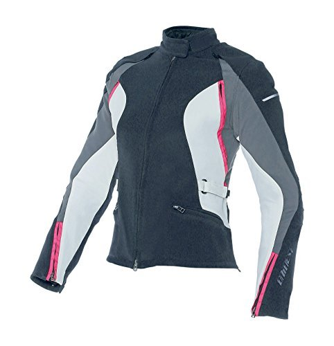 Chaqueta mujer Dainese Arya Lady Text Negro/Gris 40 1