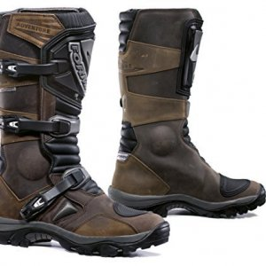 Botas Forma Stivali Moto Adventure WP Marrón