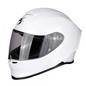 Casco Scorpion Moto Exo-R1 Air Pearl Blanco S