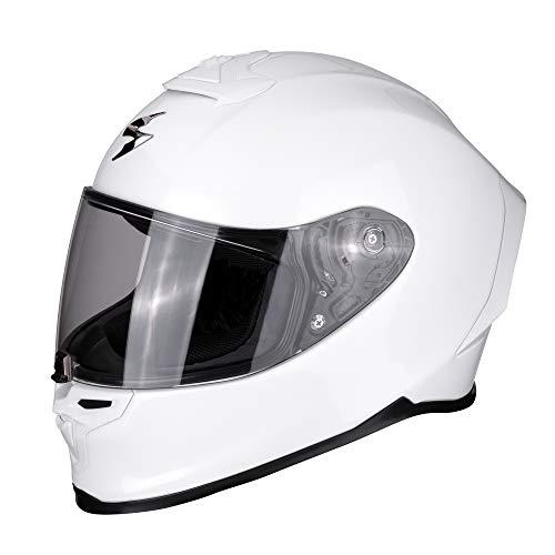 Casco Scorpion Moto Exo-R1 Air Pearl Blanco S 1