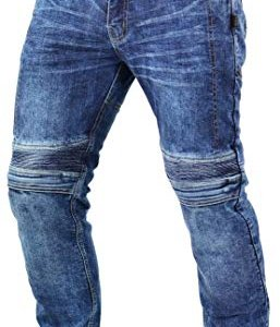 Pantalones Trilobite Micas Urban Slim Fit Azul 30