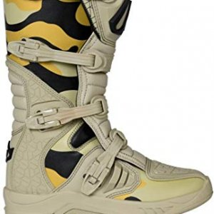 Botas Acerbis X-Team Camo/Marrón 45