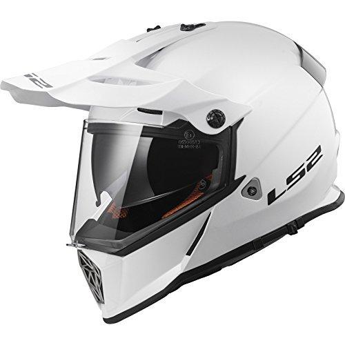 Casco LS2 MX436 Pioneer Blanco S 1