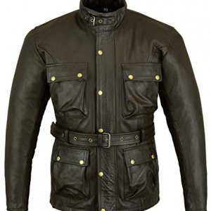 Chaqueta Bikers Gear Marrón 4XL