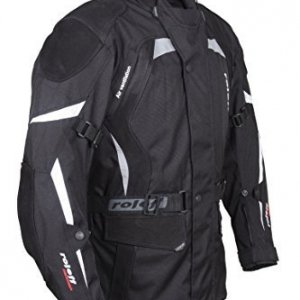 Chaqueta Roleff Racewear con protecciones Negro 5XL