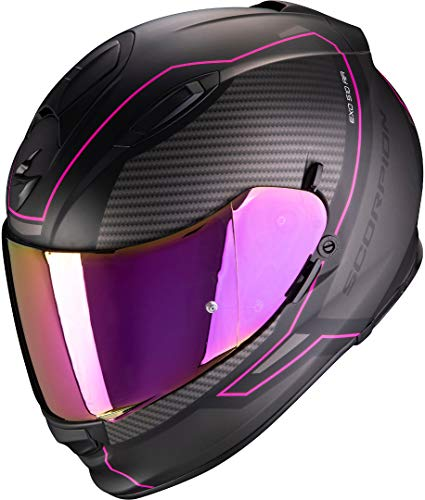 Casco Scorpion Exo-510 Air Herren Negro/Rosa M 1