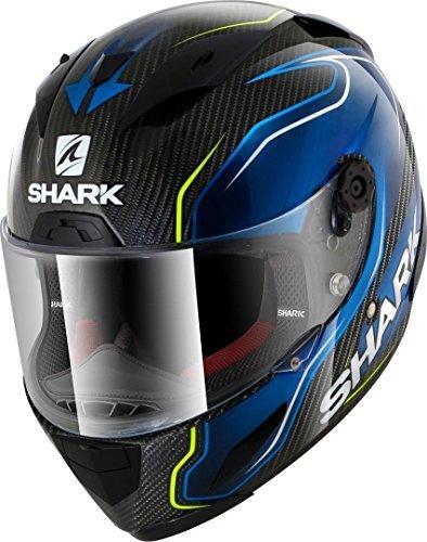 Casco Shark Race-R Pro Carbono Guintoli DBY Negro/Azul MShark Casque Moto RACE-R PRO CARB GUINTOLI DBY, Noir/Bleu, Taille M 1