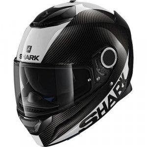 Casco Shark Spartan Carbon Skin DWS Negro/Blanco L