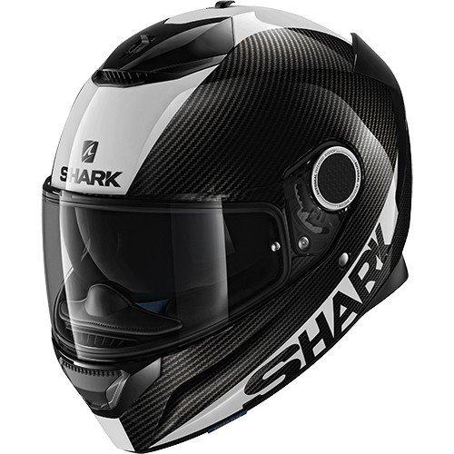 Casco Shark Spartan Carbon Skin DWS Negro/Blanco L 1