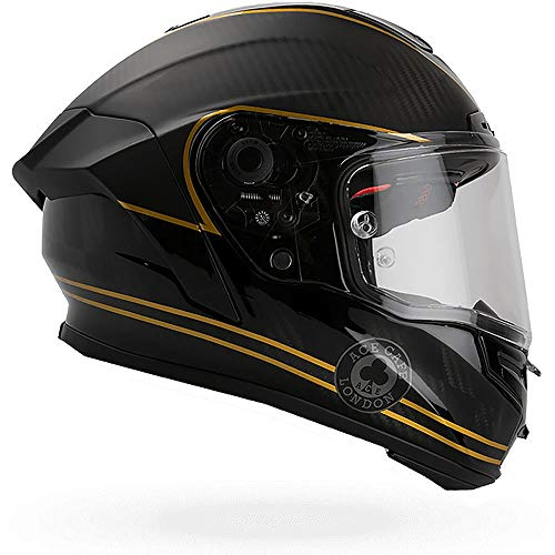 Casco Bell Racestar Speed Check Negro Mate/Dorado XS 1