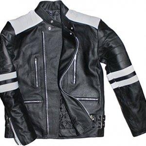 Chaqueta German Wear Retro Negro/Blanco 54