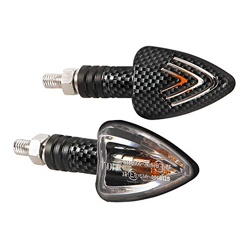 Par Intermitentes Lampa Carbono 1