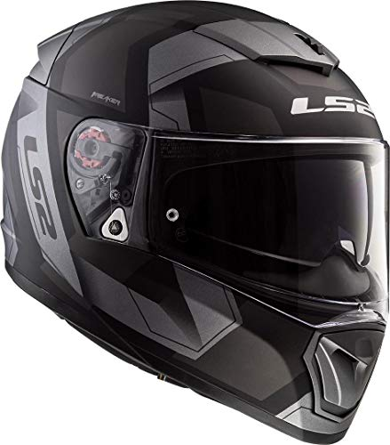 Casco LS2 NC Breaker Physics Negro/Gris S 1