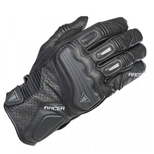Guantes cuero mujer Racer 21624 Negro XL