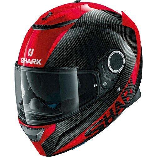 Casco Shark Spartan Carbon Skin DRR Negro/Rojo XS 1