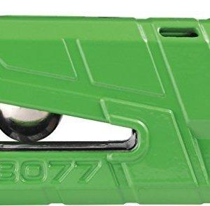 Candado Abus Granit Detecto X-Plus 8077 con alarma Verde