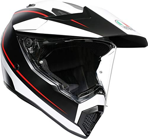 Casco AGV AX9 Multi MPLK Pacific Road Negro/Blanco L 1