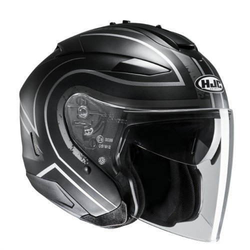 Casco HJC IS-33 II Apus MC5SF Negro/Blanco S 1