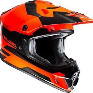 Casco HJC CS-MX II Pictor MC6H Naranja/Negro M