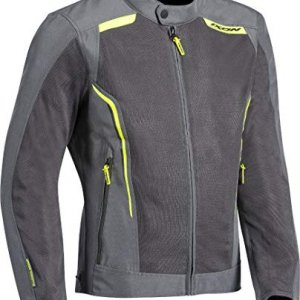 Chaqueta Ixon Cool Air Gris/Amarillo L