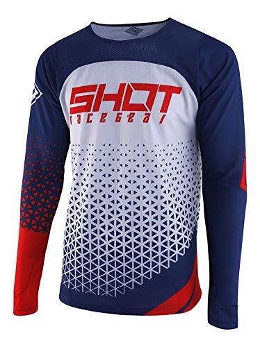 Camiseta Shot Delta MX Azul/Rojo/Blanco XXL 1