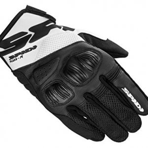 Guantes Spidi Flash-R Evo Negro/Blanco L