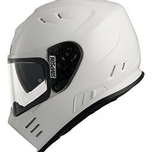 Casco Simpson Venom Blanco XXL