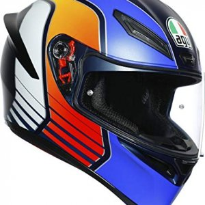 Casco AGV K1 Power Matt Azul/Naranja/Blanco XS
