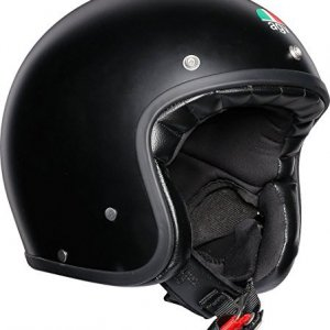 Casco jet AGV Legends X70 Negro mate XL