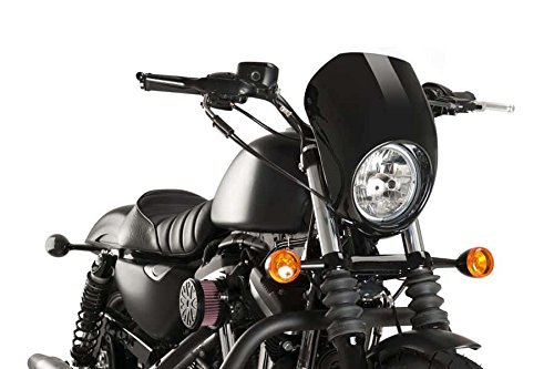 Semicarenado Customacces AZ1101N Harley Davidson 1