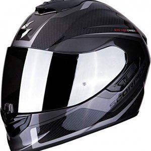 Casco Scorpion Exo-1400 Air carbon Esprit Negro/Gris XS