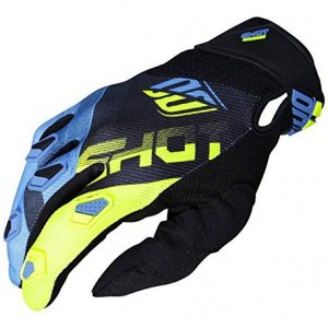 Guantes Shot Devo Ultimate Azul/Amarillo M