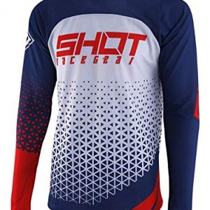 Camiseta Shot Delta MX Azul/Rojo/Blanco XL
