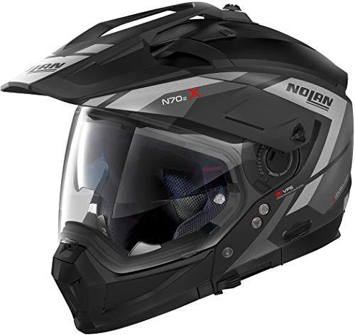 Casco Nolan N70-2 X Grandes Alpes N-Com Negro/Gris XXL 1