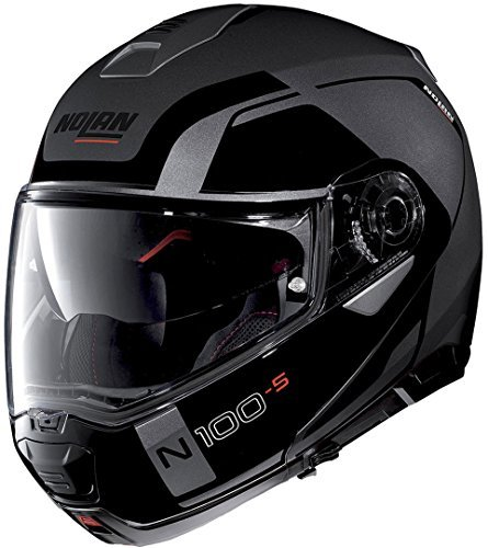Casco Nolan N100-5 Consistency N-Com Negro/Gris XXL 1