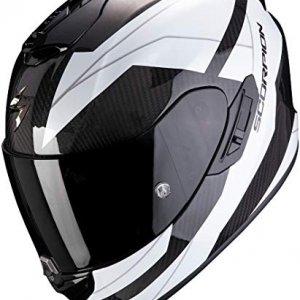 Casco Scorpion Exo-1400 Air Carbon Legione Blanco/Negro M