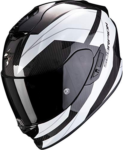Casco Scorpion Exo-1400 Air Carbon Legione Blanco/Negro M 1